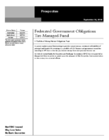 Federated GovtObligations Tax-Managed Fund Prospectus