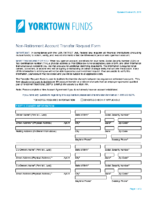 Non Retirement Transfer Form